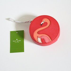 NWT Kate Spade Flamingo Coin Purse
